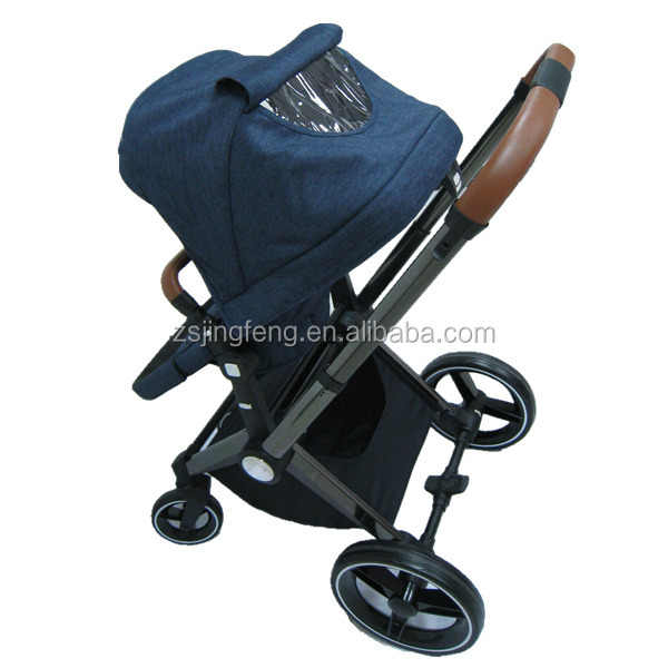 Baby StrollerType and Aluminum Alloy Frame Deluxe Baby Stroller With Reversible Handle China Factory High Quality Baby Stroller