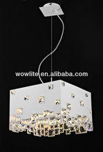 2012 Sales leader crystal pendant lamp D1402A-5WH