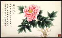 modern handmade home decor chinese painting