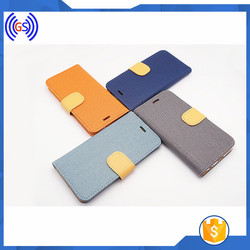 Korea New Flip Cover Genuine Leather Case For Samsung Galaxy S6 Edge