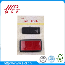Yangzhou Sanda 2pcs red lint remover brush for clothes cleaning