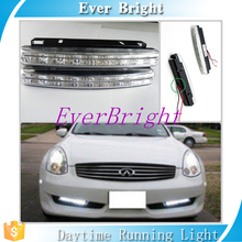 2pcs led light bar car accessories led headlight 1*8 SMD led bulb 12V daytime running light white led daylight drl