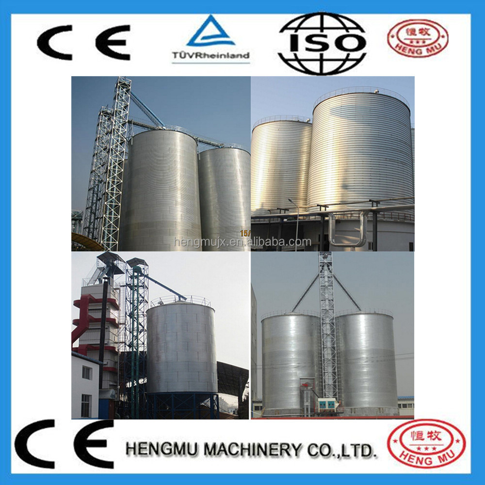 hot export steel silo for grain storage maize storage silos