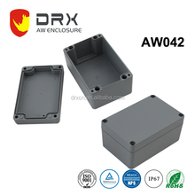 Small aluminum waterproof die cast junction box IP67