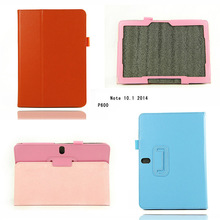 Leather Stand Smart Cover Protective Case For Samsung Galaxy Note 10.1 P600 2014