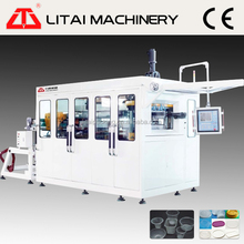 Full automatic plastic thermforming machine for cups/plates/containers/lids