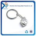 Promotional Top Quality Cheap Metal Dice Keychain