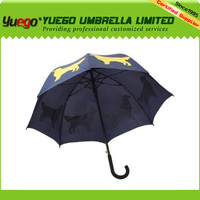 new invention ladies fashion pet pug dog popular umbrella