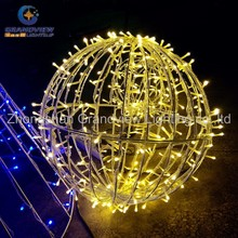 LED outdoor waterproof warm white decorative Christmas ball light