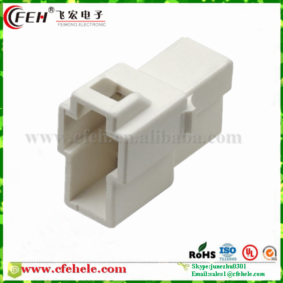 2 Pin Male Car Auto Parts PA66 Injection KET Connector MG620042