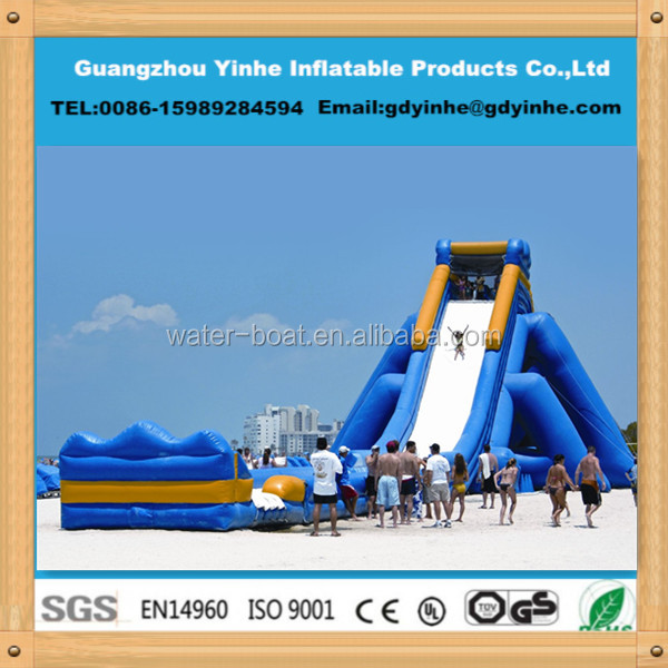 2014 giant water slide inflatable water slide for sale