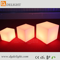 Factory Directly Sale Cheap RGB Illuminated LED Cube Seat for Party 40*40*40cm