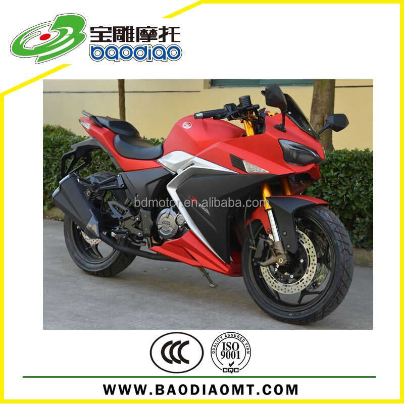 2016 New 150cc Automatic Motorcycle Motorbike Racing Sport Motorcycle Four Stroke Engine Motorcycles Baodiao Manufacture BWE1776