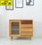 modern wooden wine cabinet with doors