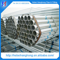 Round, Square, Rectangular shapes fencing galvanized steel pipe