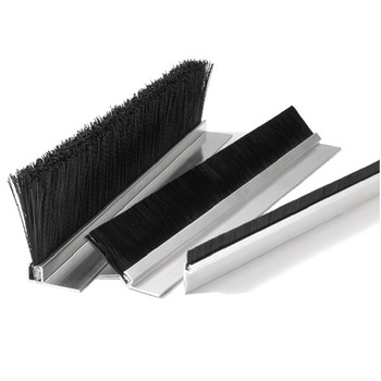 Nylon Bristle Customized size Aluminum seal strip brush for Door