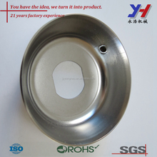 OEM ODM customized Magnetic force polishing stainless steel round bowl of polishing
