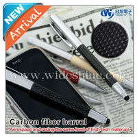Carbon fiber stylus touch pen 2013 new quality product apple iphone price