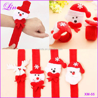 Free Shipping by DHL/FEDEX/SF Christmas Decorations Patting Circle Children Gift Santa Claus Snowman Deer New Year Party Toys
