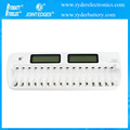 Wholesale 16 slot LCD Smart Battery Charger AA AAA