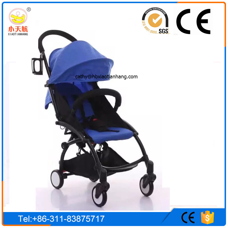 Hot sales! Husband and wife hand pram! Foldable Lightweight Aluminum Alloy Made Baby Stroller 3 in 1 Luxury