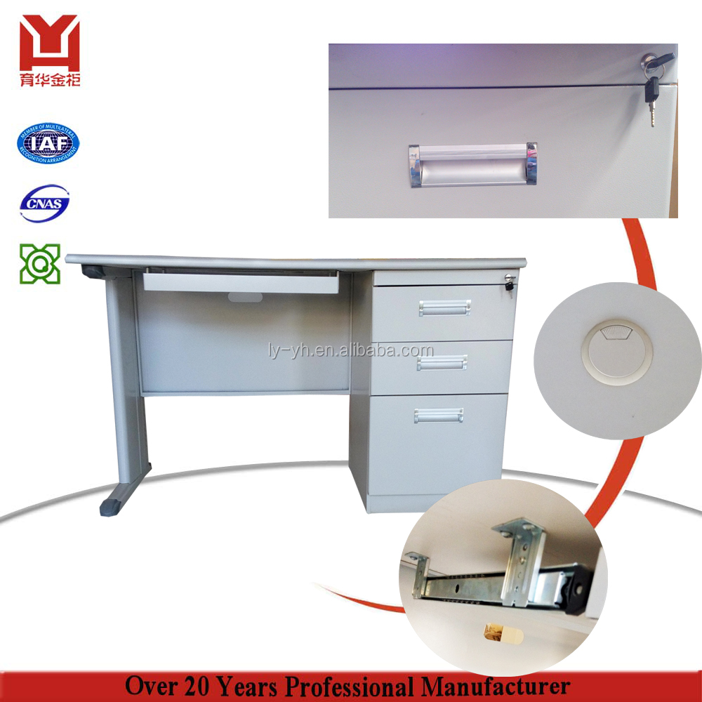 Professional Manufacturer Metal Computer Desk Office Table Design Steel Employee Table
