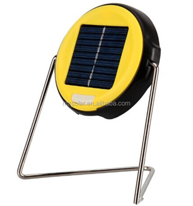 2014 new Portable Solar Camping rechargeable led lantern camping lights solar light