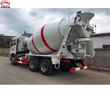 Convenient Use Ready Mix Dayun9cbm Concrete Mixer Truck Car Concrete Car