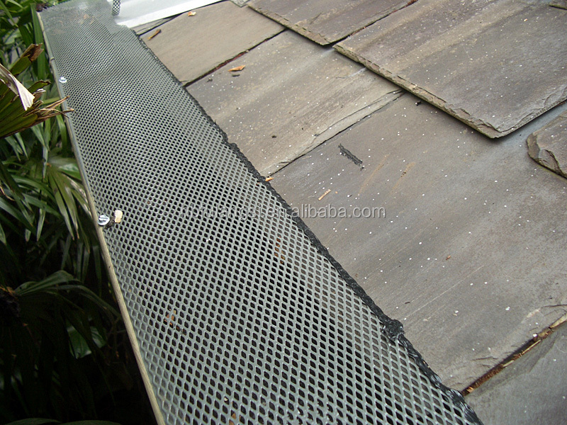 Aluminum Mesh Gutter Guards Expanded Gutter Screen Mesh