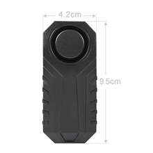 anti-theft small size simple installation car alarm remote control 3D acceleration sensor IP55 Waterproof SOS function support