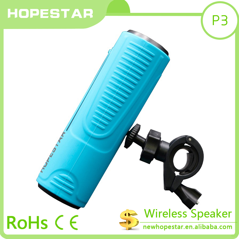 2017 hopestar shower speaker bluetooth s815 for hold on bicycle sport use speaker