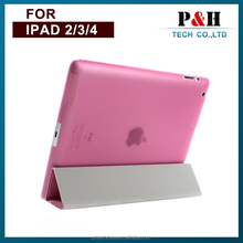 New Foldable Smart Cover Magnetic Leather Stand Case For iPad 2/3/4