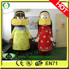 HI hot sale arabic man&woman mascot
