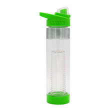 OEM logo printing High Quality Custom Plastic Waterbottles With Fruit Infuser