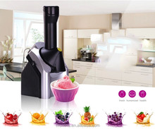 2014 HOT selling home kids DIY party fruit yogurt cone ice cream maker as seen on TV
