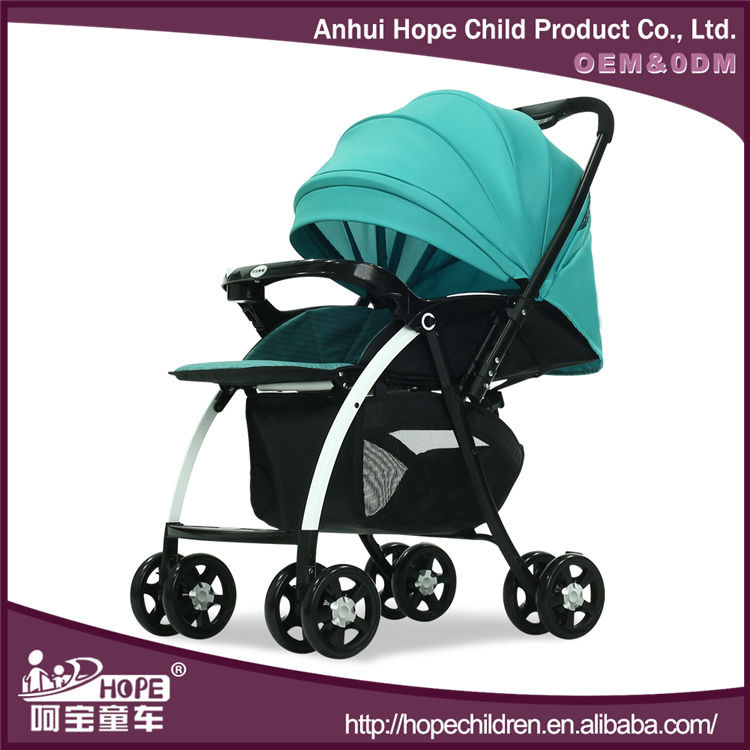Best Selling Baby Stroller Tricycle with Reversible Handle and Adjustable Seat Can Be Sitting and Lying