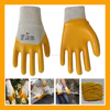 Light Duty Economic Interlock Cotton Lined Nitrile Coated Work Gloves