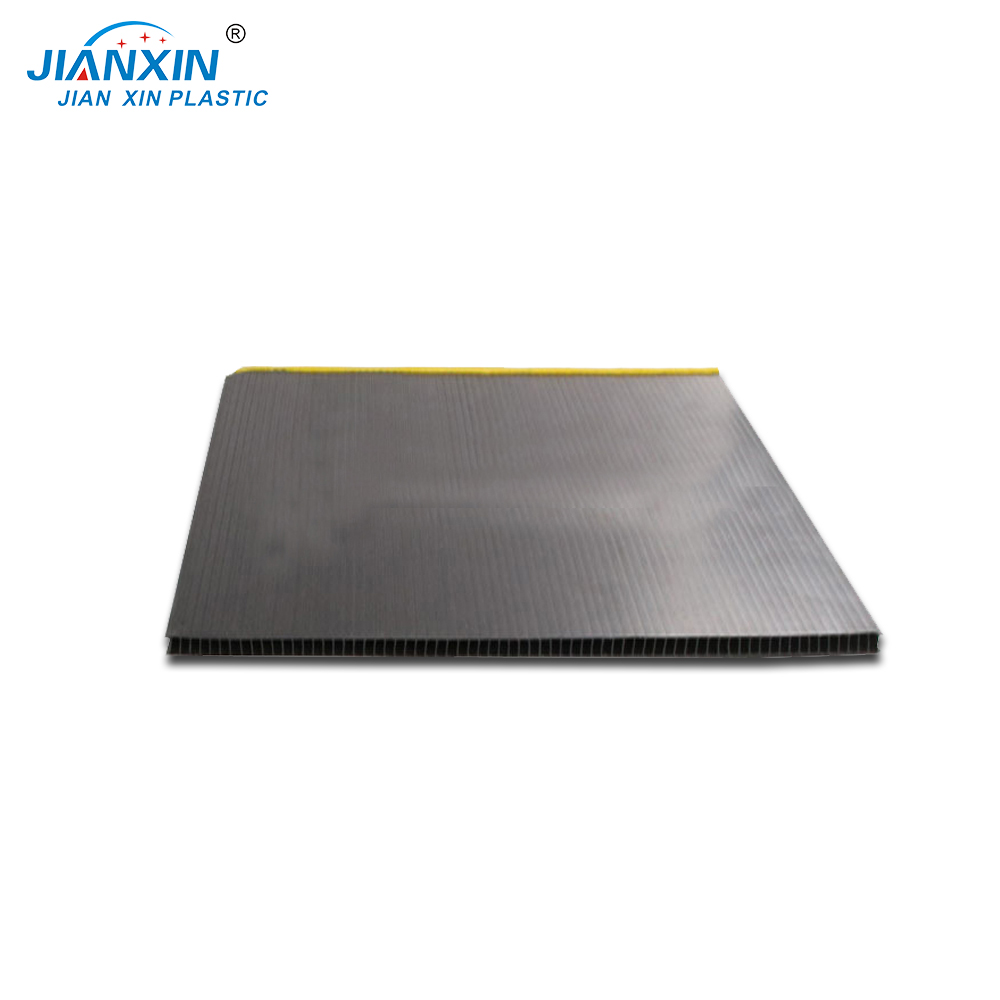 100% Recyclable Polypropylene PP Correx Fluted Board/Futed Plastic Sheet