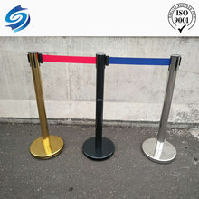 museum exhibition plastic traffic barrier moulds stanchion
