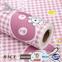 PVC Self Adhesive Wallpaper,wall sticker for Kids Room Decoration