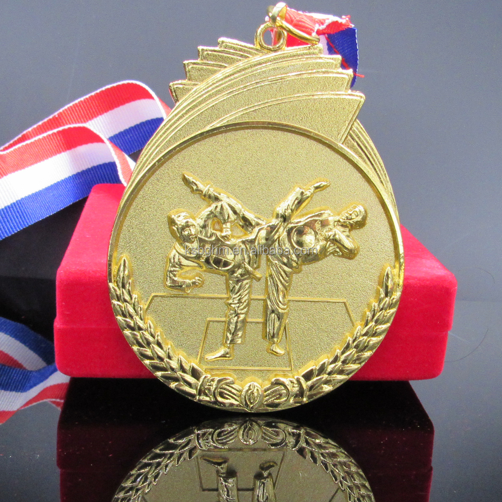 Cheap custom wushu competition medal for taekwondo/sports gold silver bronze medals