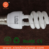 Direct factory Pure Triphosphor CFL Lamp Bulbs E27 B22 Base Cell Half Spiral Energy Saving Light