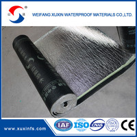 Construction building Rolling SBS Rubber Roofing Material Bitumen Waterproof Membrane