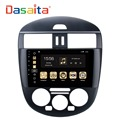 "DASAITA Android 8.0 9"" Car radio stereo DVD player with Navigation multimedia system for Nissan Tidda 2011-2014 (manual AC)"