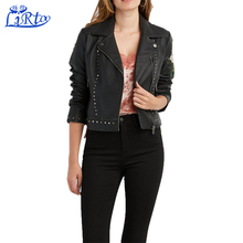Fashion custom bomber varsity 100% leathe jacket women plus size petite jacket