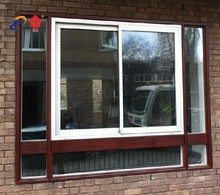 Aluminum window extrusion profile for sliding window door
