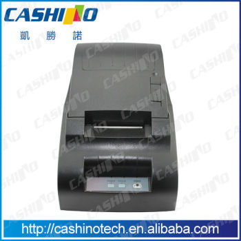 CSN-58III Cheap price 58mm High speed low noise 12V desktop Pos Receipt printer with Parallel,RS232,USB