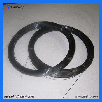 1.0mm and 2.0mm black surface nitinol memory wire for sale price per kg