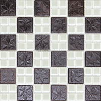 plastic mosaic art glass mosaic tile
