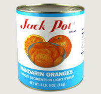 Canned food/Canned mandarin oranges